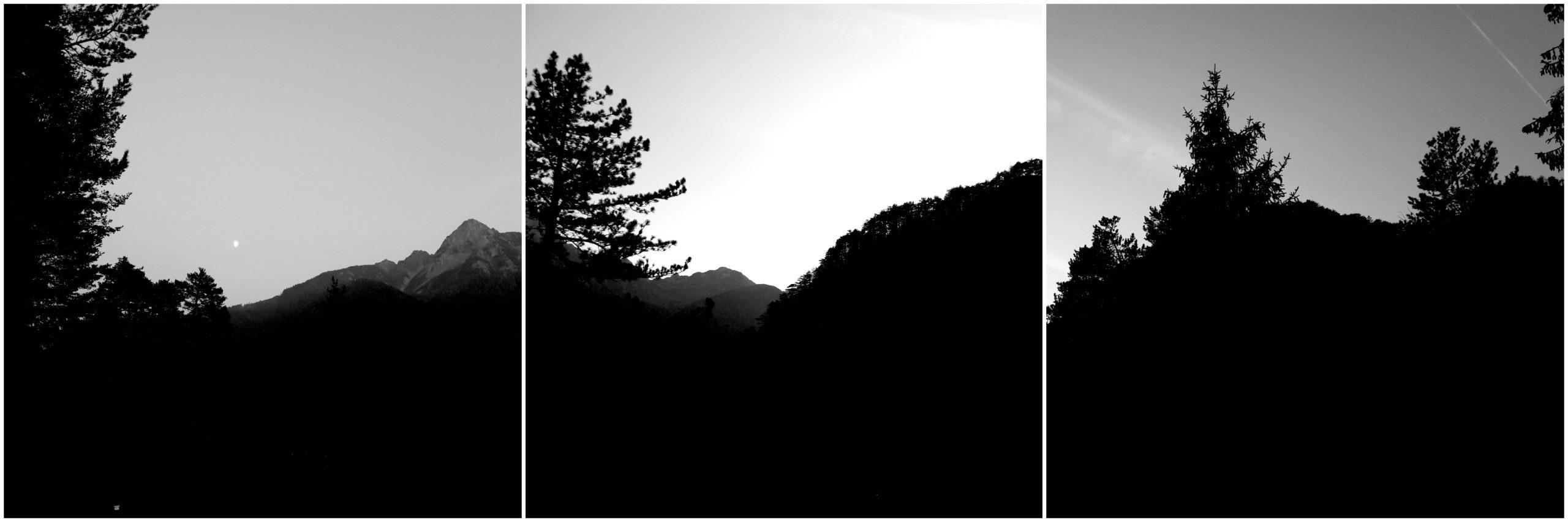 trittico montagna